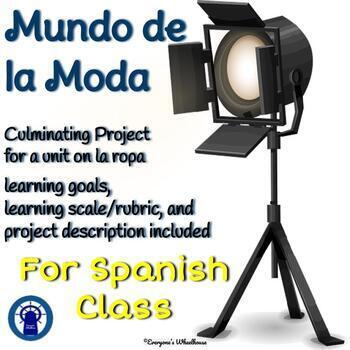 SPANISH Project: Culminating Project for La Ropa