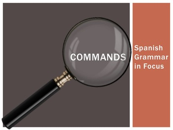 Spanish Project:  How To Presentation (Commands)