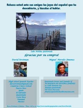 Spanish Project:  Travel Brochure