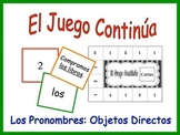 Spanish Direct Object Pronoun Activity for Groups