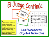 Spanish Indirect Object Pronoun Activity for Group