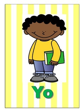 Spanish Pronoun Posters