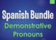 Spanish Pronouns Monster Bundle