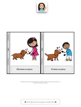 Spanish Pronouns: Pronombres El y Ella