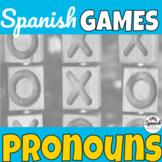 Spanish Pronouns: Tic-Tac-Toe Game