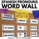 Spanish Subject Pronouns - Spanish Vocabulary Word Wall