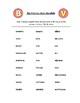 Spanish Pronunciation: B & V - Rules, Practice Sheets & Flashcards