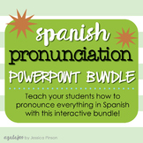 Spanish Pronunciation Difficulties PowerPoint & Lesson Pla