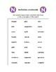 Spanish Pronunciation: N & Ñ - Rules, Practice Sheets & Flashcards