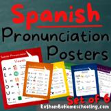 Spanish Pronunciation Posters