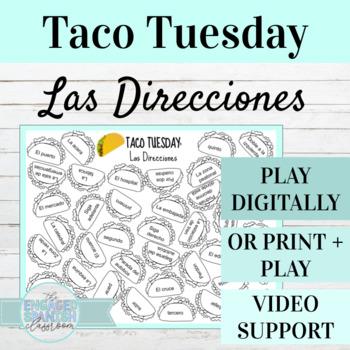 Spanish Pueblos y Ciudades TACO TUESDAY (Vocabulary part 2)