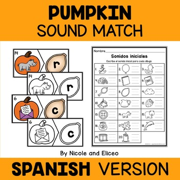 Spanish Pumpkin Literacy Center 4
