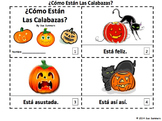 Spanish Feelings and Pumpkins 2 Emergent Reader Booklets