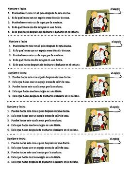 spanish puzzles for reflexive verbs rompecabezas verbos reflexivos en espa ol. Black Bedroom Furniture Sets. Home Design Ideas