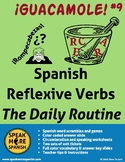 Spanish Puzzles for Reflexive Verbs. Rompecabezas! Verbos reflexivos en español