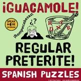 Spanish Puzzle *Regular Preterite* Rompecabezas del pretérito regular en español