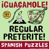 Spanish Puzzle *Regular Preterite* Rompecabezas del pretér