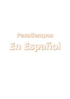 Spanish Puzzles
