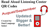 Spanish QR Code Read Aloud Listening Center August & September