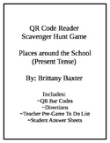 Spanish QR Code Scavenger Hunt - Places around School
