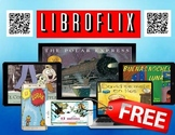 Spanish QR Codes FREE Story Cards, iPad, Literacy Stations, Reading Library