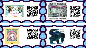 Spanish QR Codes Read Alouds Storybooks Vol. 2 (Libros de Cuentos)