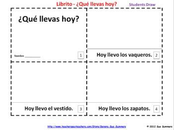 Spanish Food Emergent Readers - La Comida - Que Quieres?