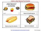 Spanish Food Emergent Readers - La Comida - ¿Qué Quieres?