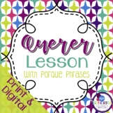 Spanish Querer with Porque Lesson