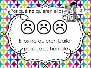 Spanish Querer with Porque Powerpoint