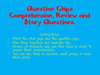 Spanish Question Chips
