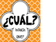 Spanish Question Posters (Quatrefoil Theme)
