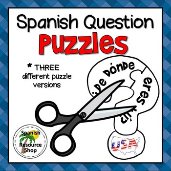 Spanish Question Puzzles