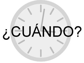 Spanish Question Word / Preguntas Classroom Posters