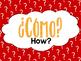 Spanish Question Word Printable Posters - Las Preguntas