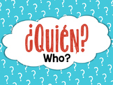 Spanish Question Word Printable Posters - Palabras Interrogativas