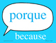 Spanish Logic Word signs word wall - Great for Comprehensi