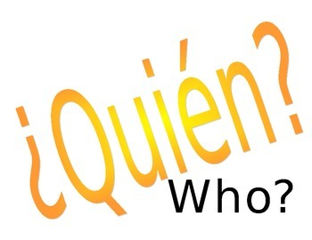 Spanish Question Words - Editable!