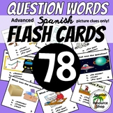 Spanish Question Words Flashcards_Advanced