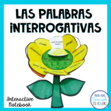 Spanish Question Words Interactive Notebook Activity