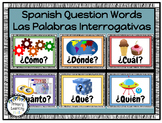 Spanish Question Words - Las Palabras Interrogativas