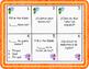 Spanish Question Words Palabras Interrogativas Task Cards