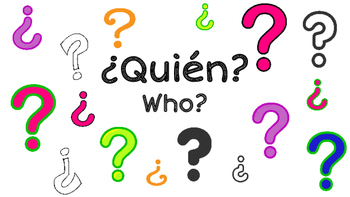 Spanish Question Words Posters