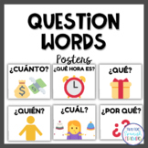 Spanish Question Words (Simple Look)