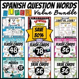 Spanish Question Words Super Value Bundle