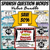 Spanish Question Words Value Bundle