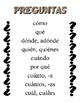 Spanish Question Words and Little Words -- Vocabulary Pages