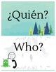 Spanish Question Words (interrogatives)