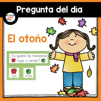 Spanish: Question of the Day for Beginning Readers - Fall/