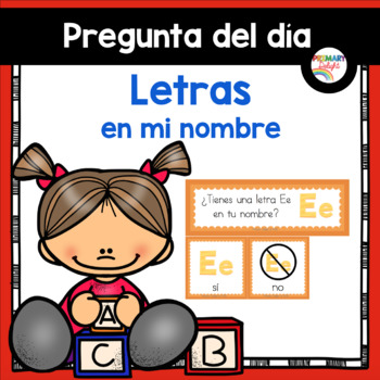 Spanish: Question of the Day for Beginning Readers - Letra